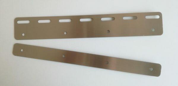 Płytka montażowa 300 mm do kurtyn paskowych