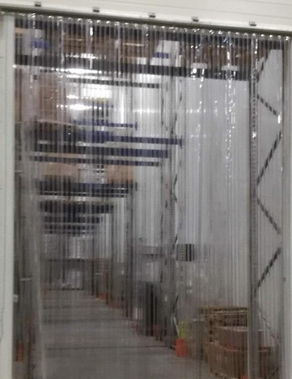 Kurtyny paskowe przesuwne z pasów żebrowanych standard 3 x 300 mm